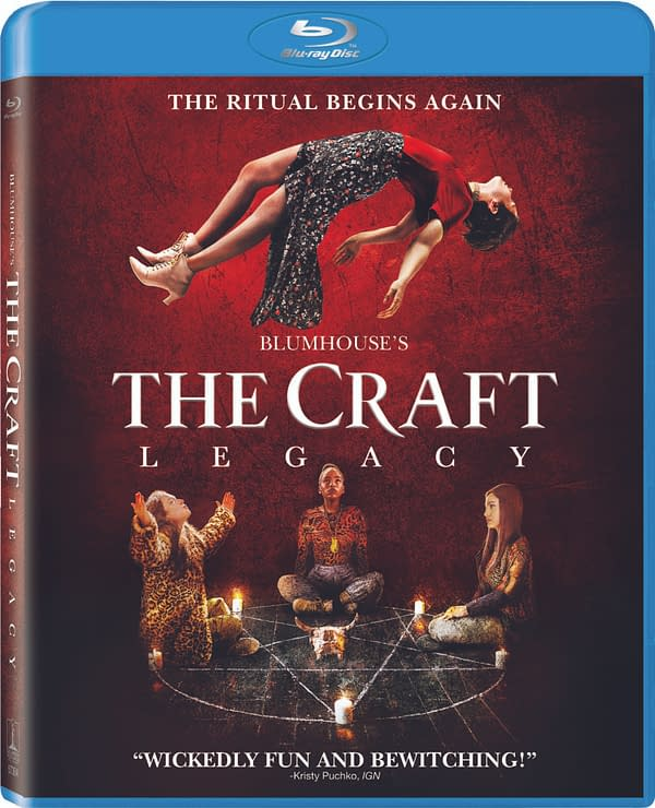 The Craft: Legacy Hits Blu-ray On December 22nd, Here's A New Clip