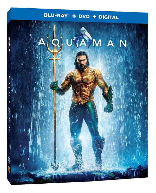 Here's What We're Getting on the 'Aquaman' 4K, Blu-Ray