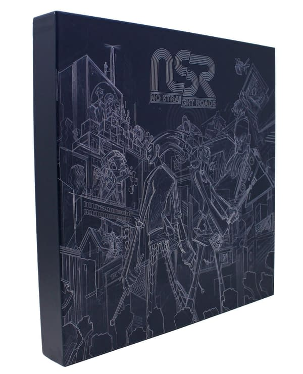 A look at the No Straight Roads Collector's Edition, courtesy of Metronomik.