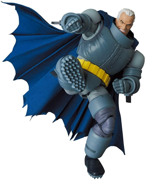 The Dark Knight Returns Armored Batman Joins MAFEX