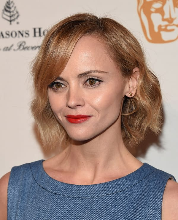 Christina Ricci arrives for BAFTA Los Angeles Tea Party 2017 on January 07, 2017 in Beverly Hills, CA. Editorial credit: DFree / Shutterstock.com