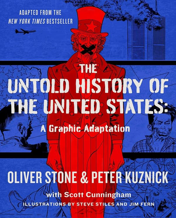 Oliver Stone Gets Graphic Novel For Untold History Of The USA