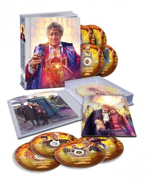 Doctor Who Collection: Season 8 Gets Blu-Ray Boxset
