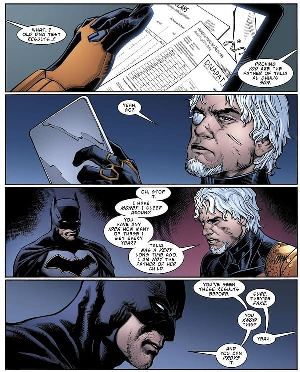 Christopher Priest Says DC Readers Can Help Decide Whether or Not Deathstroke is Damian's Daddy