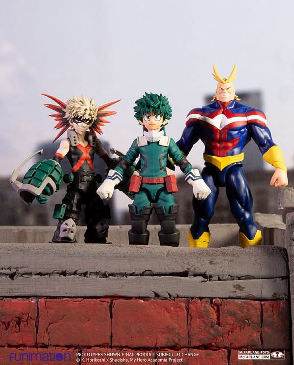 More My Hero Academia Figures Coming Soon from McFarlane Toys