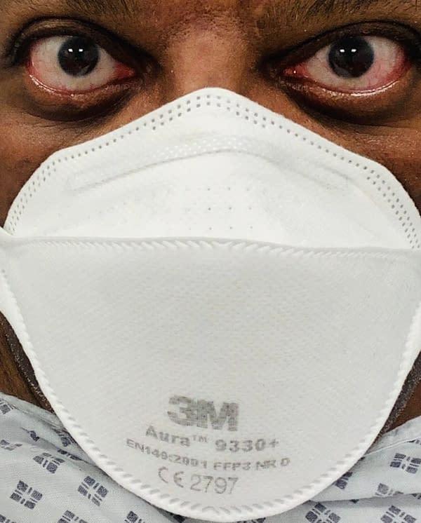 Woodrow Phoenix Got Pneumonia, Getting Better, Praisies The NHS