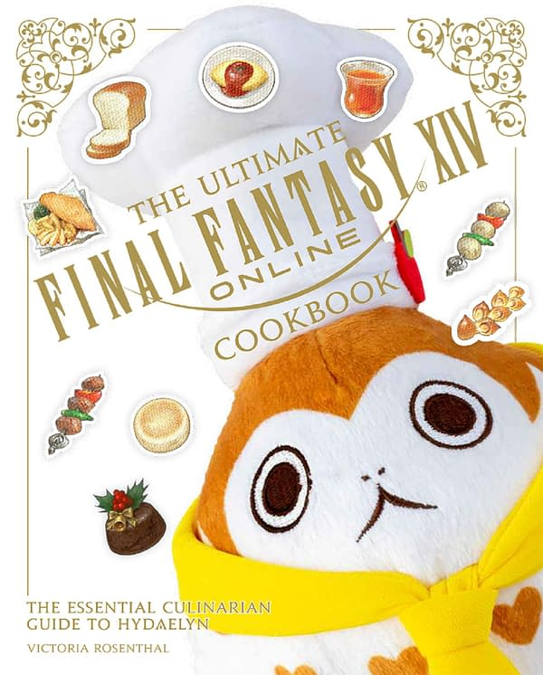 A look at the Gamestop cover for The Ultimate Final Fantasy XIV Cookbook, courtesy of Square Enix.
