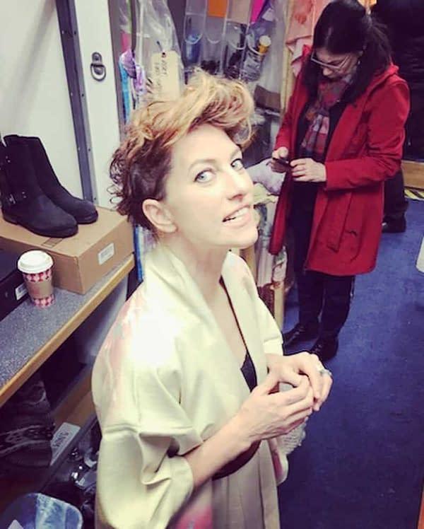 Talking to Amanda Palmer From the Set of Syfy's Happy Season Two