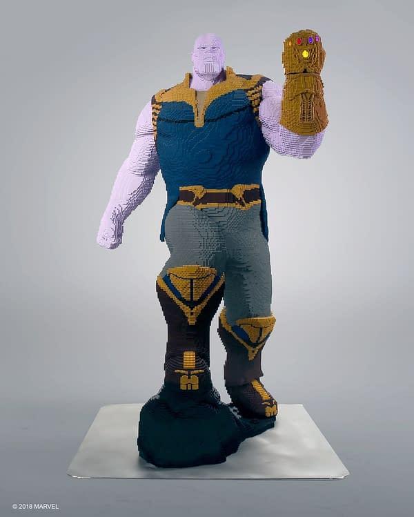 LEGO Life Size Thanos 2