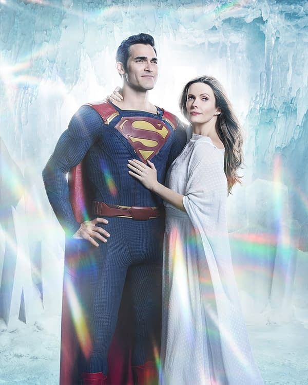 Arrowverse Elseworlds: First Image of Superman and Lois Lane