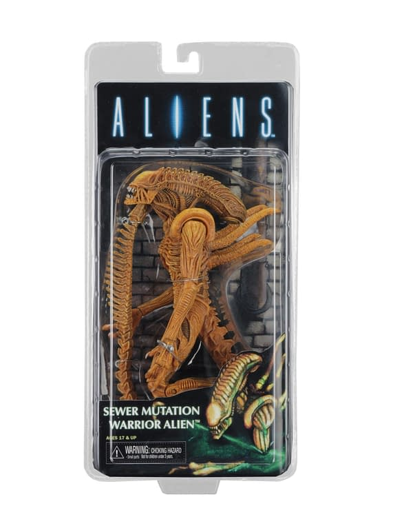 NECA Alien Figure Exclusive For SDCC 2017 Is Totally Awesome. Cowabunga!