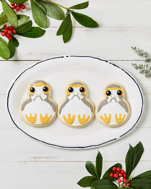 """Nerd Food: Seriously Cute Porg Cookies, Complete with """"Please Don't Eat Me"""" Eyes"""