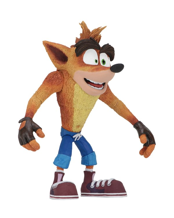 Crash Bandicoot Action Figure Coming in May from NECA