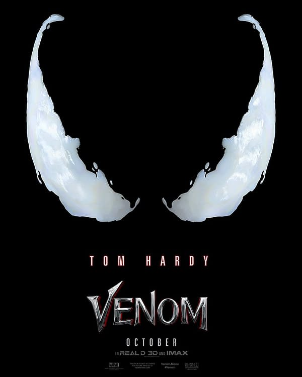We're Getting the Tom Hardy 'Venom' Trailer Tomorrow