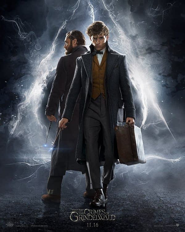 Wands Up – Fantastic Beasts: The Crimes of Grindelwald Teaser Trailer Is Here!