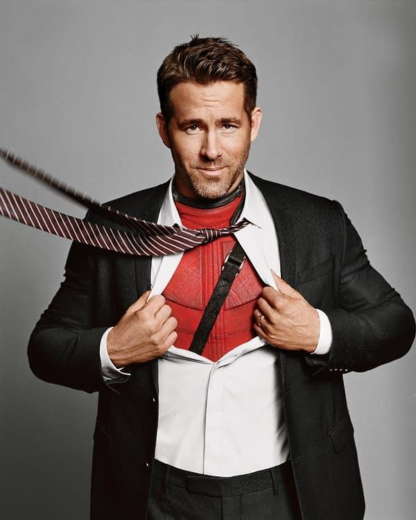Ryan Reynolds Literally Gives Left Arm for 'Deadpool 2'