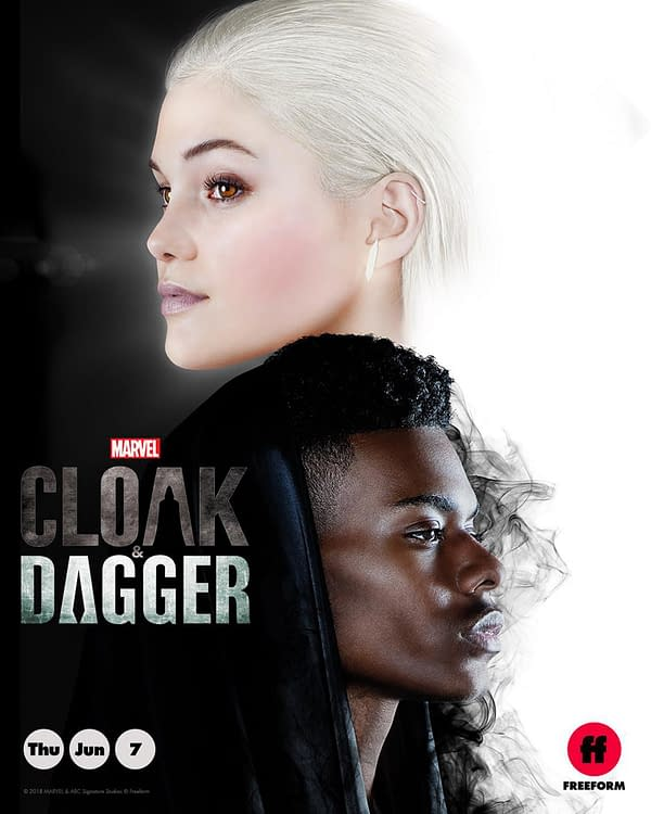 Marvel's Cloak and Dagger Gets New Poster from Freeform