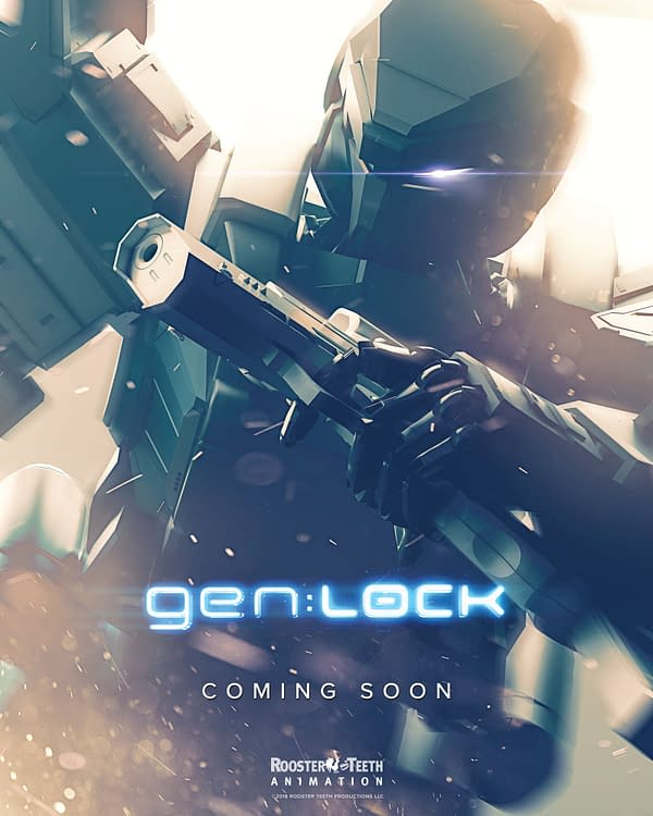 David Tennant Joins the Voice Cast of Rooster Teeth's gen:LOCK