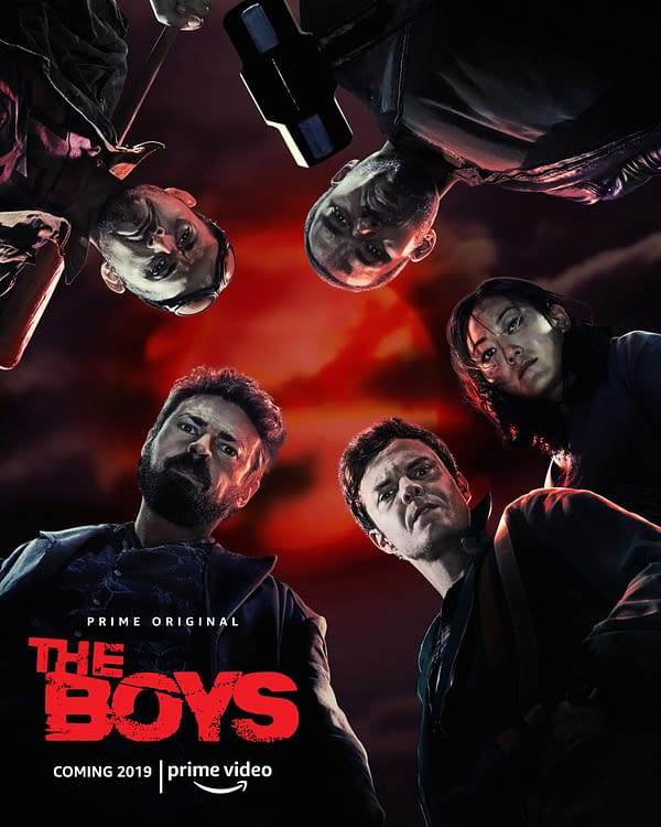 First Promo Image From The Boys Replicates Its First Comic Book Cover