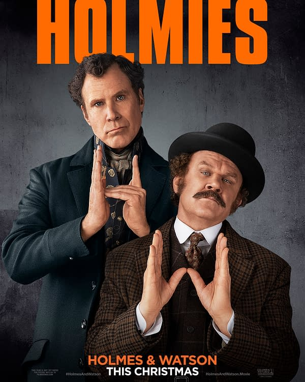 Was the 'Holmes and Watson' Poor Rating on Rotten Tomatoes Elementary?