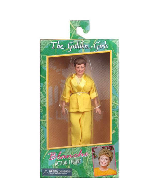 Golden Girls Action Figures Coming in May From NECA