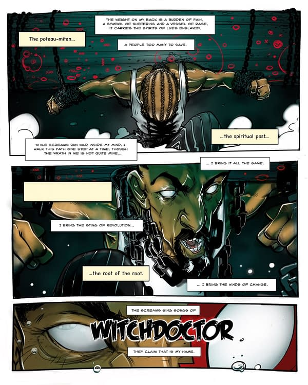 Oh, the Indie Horror: WitchDoctor by Kenjji Jumanne-Marshall