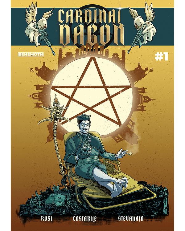 Cardinal Dagon Launches in Behemoth Comics July 2020 Solicits, Maybe.