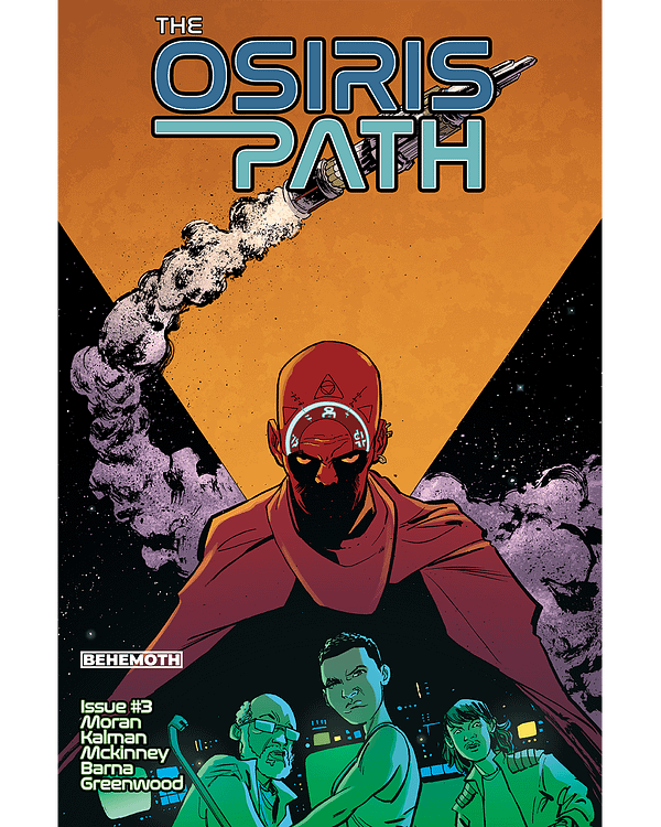 The Osiris Path Continues in Behemoth Comics July 2020 Solicits, Maybe.