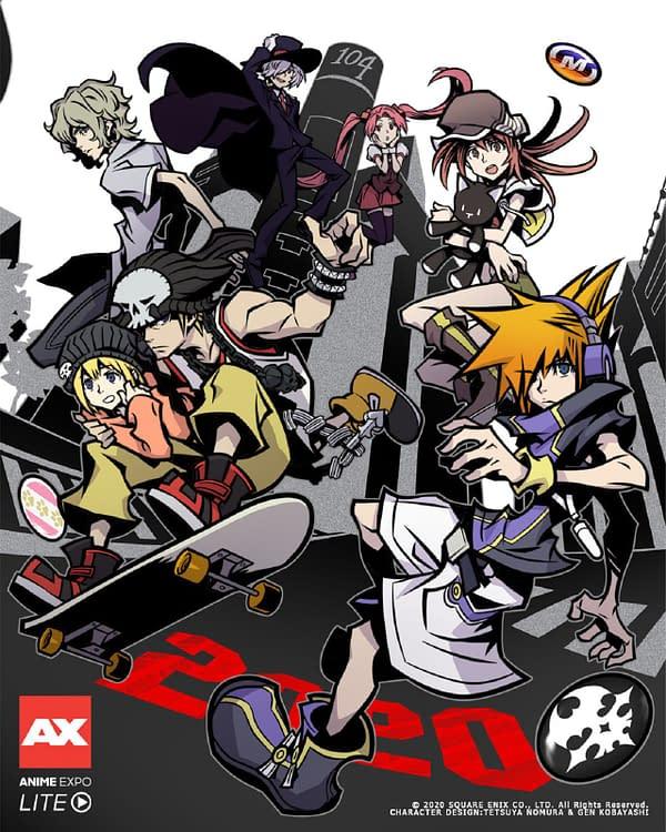 Anime Expo Lite key art, courtesy of SPJA.