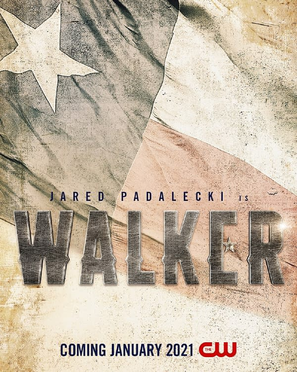Walker premieres January 2021, courtesy of The CW.