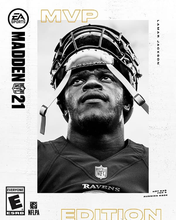 A look at the cover of Madden NFL 21, courtesy of Electronic Arts.