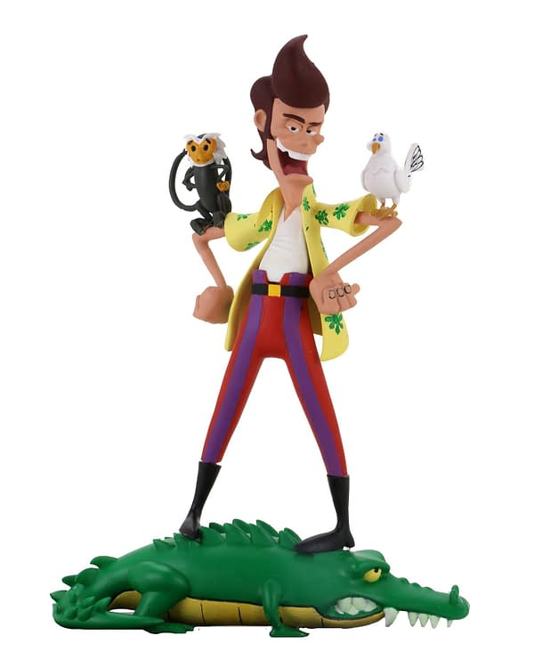 Ace Ventura Gets Animated in New Upcoming Figure from NECA