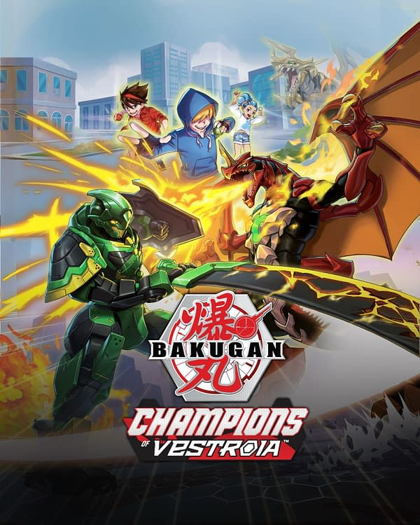 Bakugan: Champions Of Vestroia will be a Switch exclusive, courtesy of WayForward.