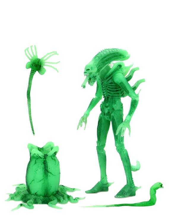 NECA's Final SDCC Exclusive Is A Glow Version Of The Alien Big Chap