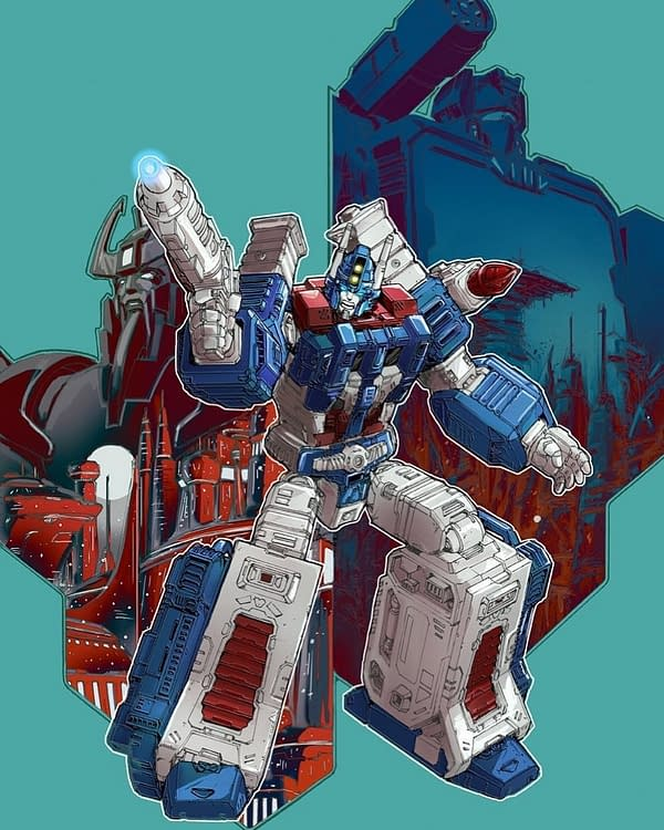 Transformers Galaxies #10 Main Cover. Credit: IDW