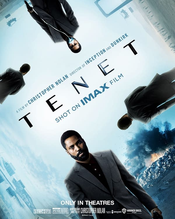 Tenet Has a New Release Date So IMAX Released a New Poster