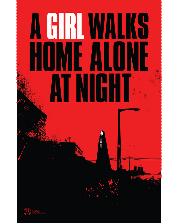 A Girl Walks Home Alone At Night in Behemoth November 2020 Solicits