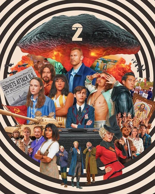 The Umbrella Academy season 2 key art (Image: Netflix)