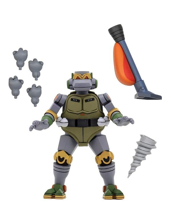 TMNT Cartoon Metalhead Figure Getting NECA Store Online Release