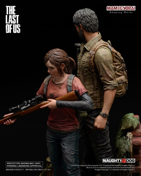 The Last of Us Gets a Special Statue From Mamegyorai