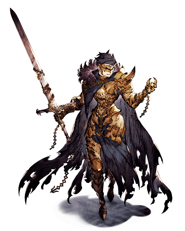 Sterne (Knight of Ruin) as seen in Final Fantasy Brave Exvius. Courtesy of Square Enix.