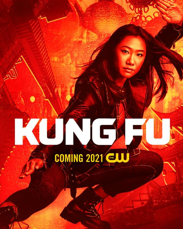 Kung Fu -- Image Number: KF_1080x1350.jpg -- Pictured: Olivia Liang as Nicky -- Photo: Katie Yu/The CW -- © 2020 The CW Network, LLC. All Rights Reserved.