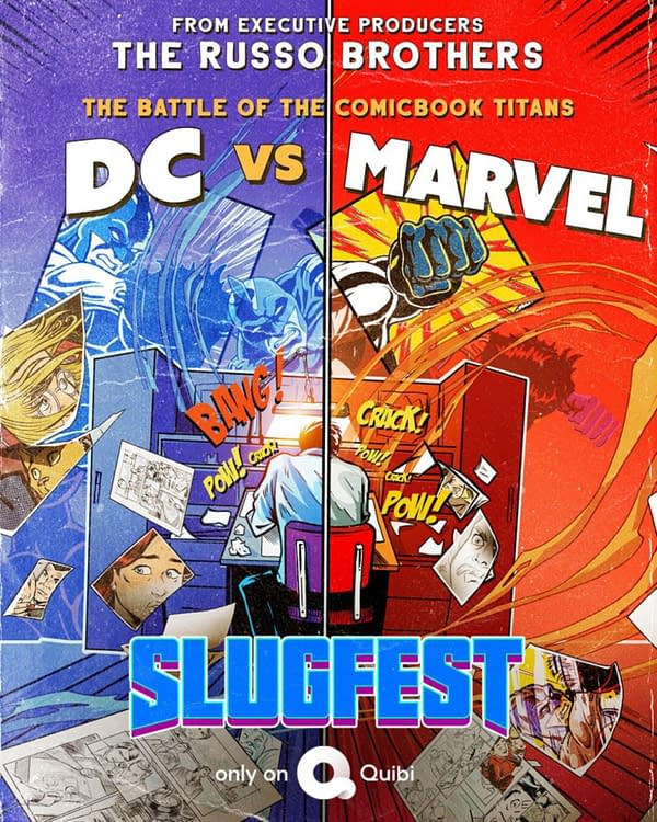 Russo Bros DC Vs Marvel Slugfest Premieres On YouTube, Ahead Of Quibi