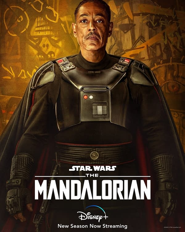 The Mandalorian offers new character portraits (Image: Disney+)