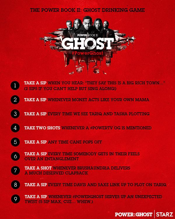 Power Book II: Ghost returns this Sunday night. (Image: STARZ)