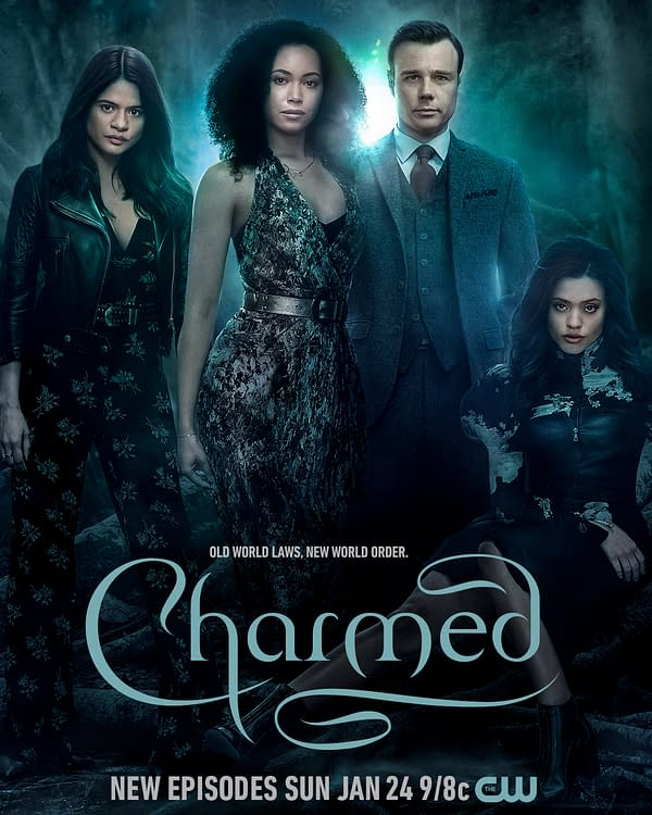 Charmed Season 3 poster key art. (Image: The CW)