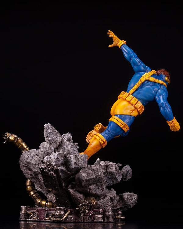 X-Men Cyclops Blasts His Way to Kotobukiya With New Statue