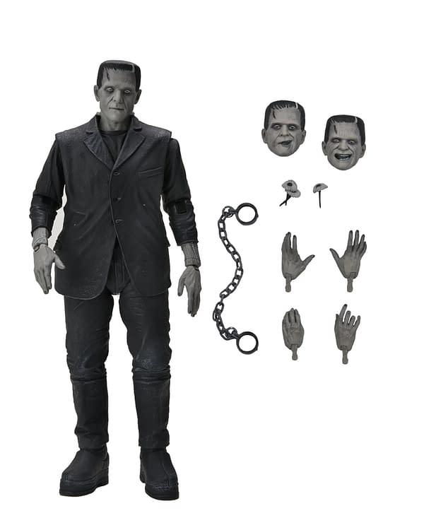 NECA Reveals Their Universal Monsters Ultimate Frankenstein Figure