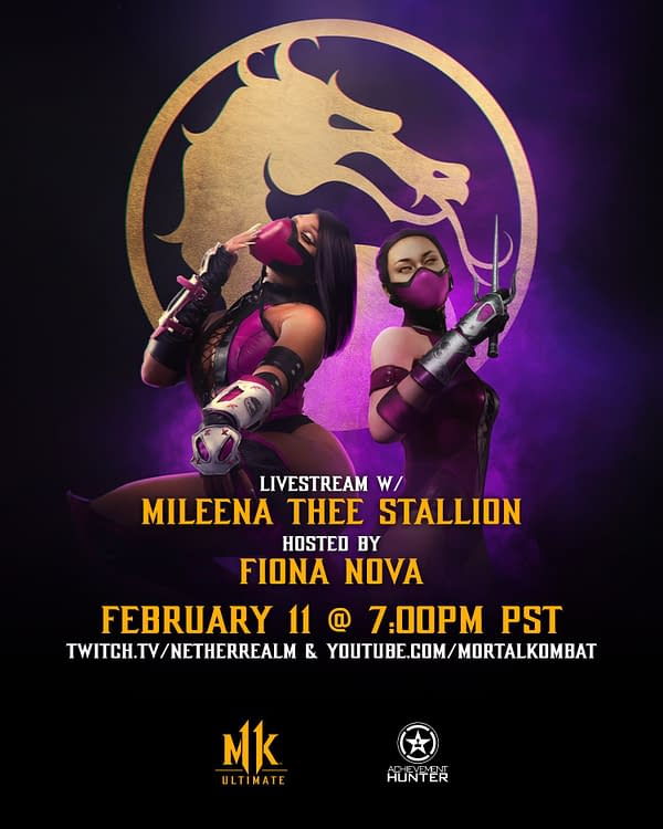 Megan Thee Stallion will face off against Fiona Nova tomorrow evening. Courtesy of NetherRealm Studios.