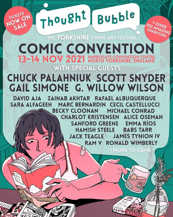 Thought Bubble, MCM And The Lakes - British Comic Cons In 2021